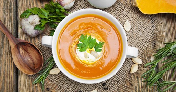 Meer Soep! Een Soeprecept met Pompoen, Maïs en Arganolie