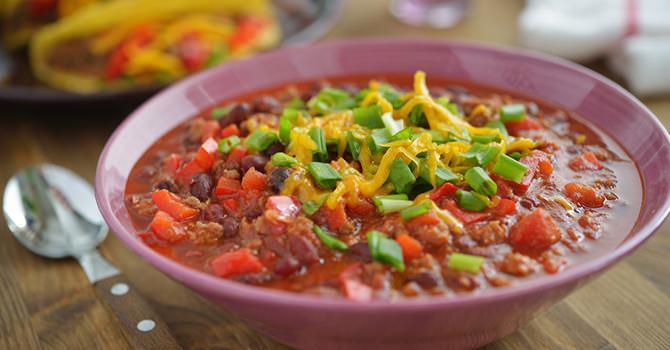 Een Chili Recept voor Super Bowl Zondag