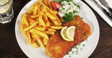 Gek van 'Fish and Chips', Niet de Traditionele Versie!