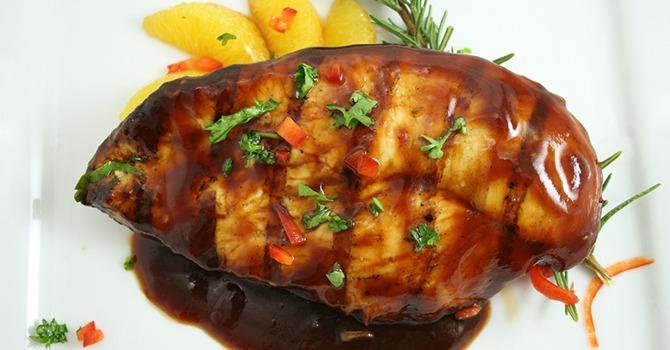 Gezond Honing Geglazuurde Kip Recept