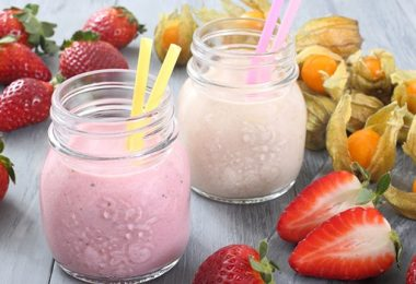 Gezonde, Verfrissende en Milkshakes Voor in de Zomer