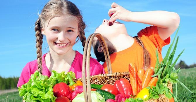 Help Je Kinderen Gezonde Eetgewoontes Aan te Leren