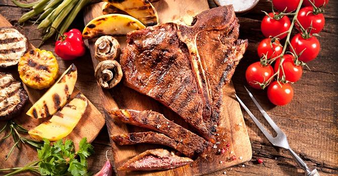 Lekkere T-Bone Steaks met Culinaire Arganolie