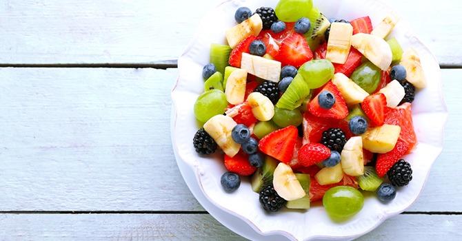 Oh zo Verse en Knapperige Fruitsalade!