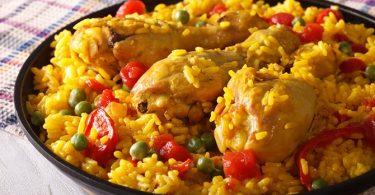 Paella met Kip en Arganolie, Gezond Recept!